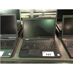 1 DELL INTEL CORE I7 & 3 HP ELITEBOOK LAPTOPS (NO POWER CORDS - HARD DRIVE REMOVED)
