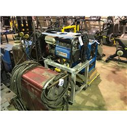GAS POWERED AIR LIQUIDE WOLFPAC 175 ARC WELDER WITH MOBILE STAND