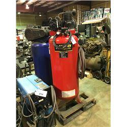 HUSKY PRO 60 GALLON, 135PSI, 230V, VERTICAL AIR COMPRESSOR WITH AIR LINE