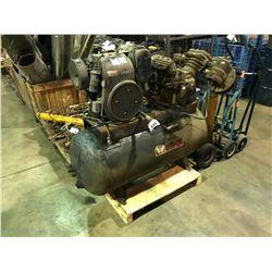 WEBSTER HORIZONTAL AIR COMPRESSOR WITH INGERSOLL-RAND COMPRESSOR & KOHLER K301S ENGINE