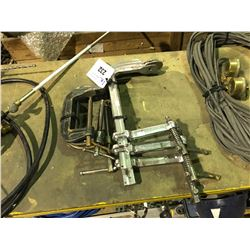 2 SETS OF ASSORTED C CLAMPS