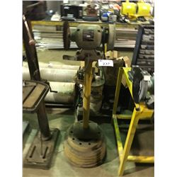 """SHOPCRAFT 6"""" HEAVY DUTY BENCH GRINDER ON STAND"""