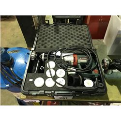 METABO MODEL 1015 IMPACT DRILL WITH CASE & CONTENTS