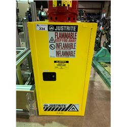 JUSTRITE SURE-GRIP EX FLAMMABLE LIQUID STORAGE CABINET