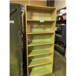 5 - 6 TIER MAPLE BOOKCASES