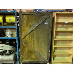 LARGE WOODEN CONSUMABLES CABINET