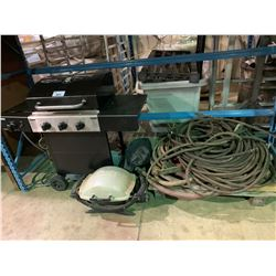LOT OF AIR LINE & 2 BBQ'S