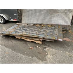 PALLET OF SCRAP SHEET METAL