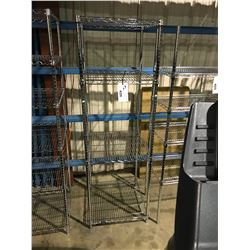 "24""X24"" NEXEL 4 TIER METAL RACK"