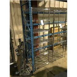 "24""X24"" NEXEL 6 TIER METAL RACK"