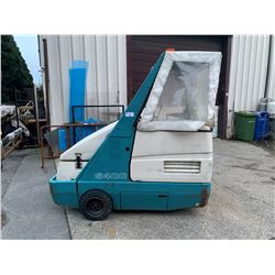 2008 TENNANT 6400 SWEEPER, MULTI COLORED, VIN # 5381