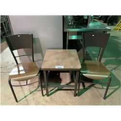 3 PCS TABLE & CHAIR SET