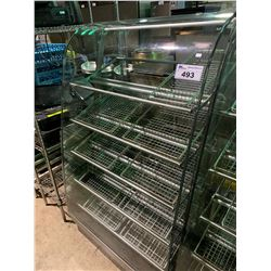 GLASS FRONT 5 TIER PASTRY SHOW CASE