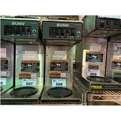 BUNN MODEL CWT-35-3T SINGLE POT COFFEE BREW STATION