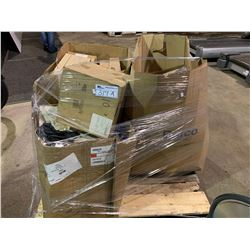 PALLET OF ASSORTED CAT FILTERS AND PARTS