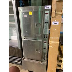 PAIR OF CLEVELAND STACKING BAKERS OVENS