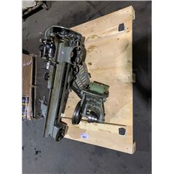 PALLET WITH LATHE IN PARTS WILL NEED REPAIR