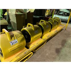 YELLOW HURRICANE 23 COMMERCIAL BLOWER