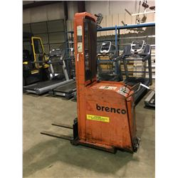 PRESTO C62-15LC 600 LBS 6' HIGH 12V ELECTRIC MOBILE PALLET LIFTER