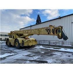 1981 GROVE RT65S 35 TON CRANE WITH 110' OF STICK AND 25' SWING OUT JIB