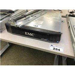 EMC2 VNXE 3200 12 DISK NAS STORAGE UNIT, COMES WITH RACK RAILS, HARD DRIVES NOT INCLUDED