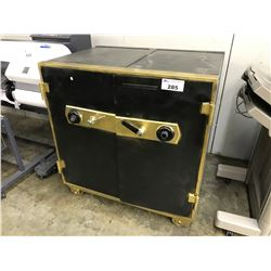 CHUBB-MOSLER-TAYLOR 4' X 4' X 3' COMBINATION SAFE