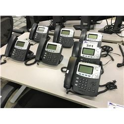 LOT OF 7 DIGIUM IP PHONE HANDSETS