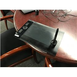 WACOM DRAWING TABLET, MODEL PTH-640, COMES WITH PEN