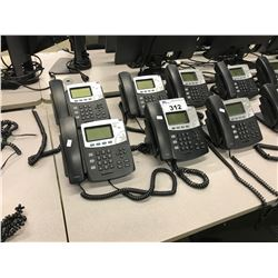 LOT OF 6 DIGIUM IP PHONE HANDSETS