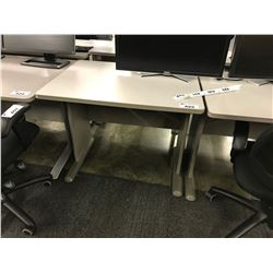 GREY 3' COMPUTER TABLE (S2)