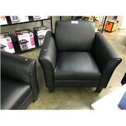BLACK ARM CHAIR