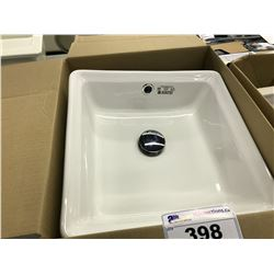 ACRI-TEC ABOVE COUNTER BATHROOM SINK
