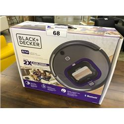 BLACK & DECKER LITHIUM ION BLUETOOTH ROBOTIC VACUUM