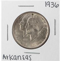 1936 Arkansas Centennial Commemorative Half Dollar Coin