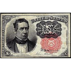 1874 Ten Cent Fifth Issue Fractional Notes