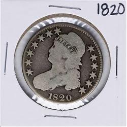 1820 Capped Bust Half Dollar Coin