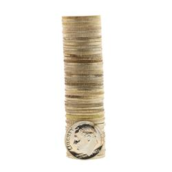Roll of (50) Proof Pre-1960 Mixed Date Roosevelt Dime Coins