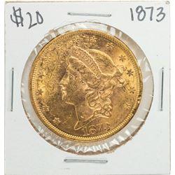 1873 $20 Liberty Head Double Eagle Gold Coin