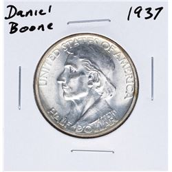 1937 Daniel Boone Bicentennial Commemorative Half Dollar Coin