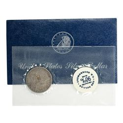1880-O $1 Morgan Silver Dollar Coin with GSA Soft Pack and Envelope