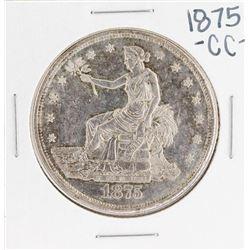 1875-CC $1 Seated Liberty Silver Dollar Coin