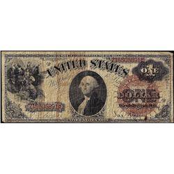1880 $1 Legal Tender Note