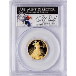 2006-W $10 Proof American Gold Eagle Coin PCGS PR69DCAM Signature Series