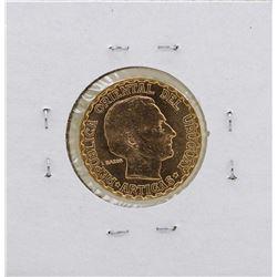 1930 Uruguay 5 Pesos Gold Coin