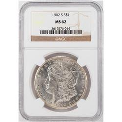 1902-S $1 Morgan Silver Dollar Coin NGC MS62