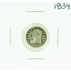 1834 Capped Bust Half Dime Coin