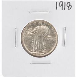 1918 Standing Liberty Quarter Coin
