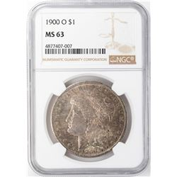 1900-O $1 Morgan Silver Dollar NGC MS63