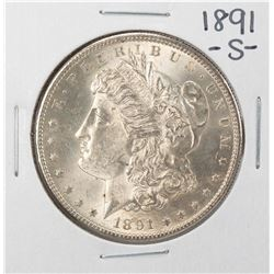 1891-S $1 Morgan Silver Dollar Coin