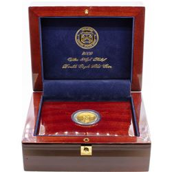 2009 Ultra High Relief Double Eagle Gold Coin w/ Box COA & Book